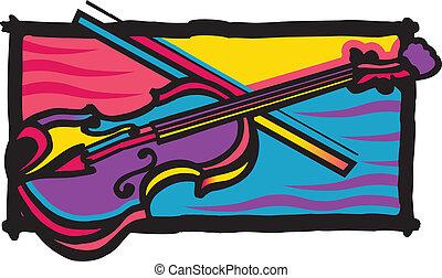 colorare, fidula, multi, disegno