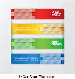 colorare, fondo., astratto, vettore, etichetta