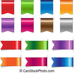 colorare, grande, set, nastri, vendita