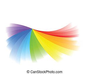 colorare, luminoso, vettore, fondo