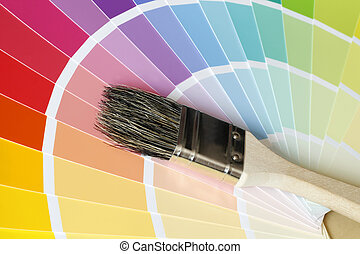colorare mappa, spazzola