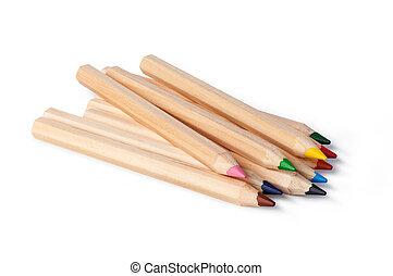 colorare, matite