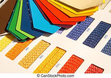 colorare, modelli, -, tessuto, scheda