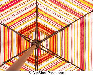 colorare, multi, ombrello