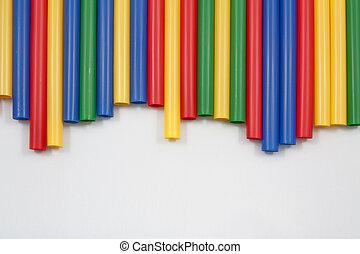 colorare, multi, paglie