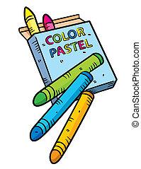 colorare, pastello