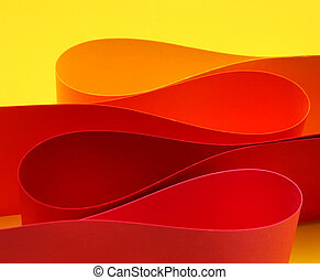 colorare, riscaldare, arco, forma, onda