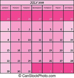 colorare, rosa, 07, 2018