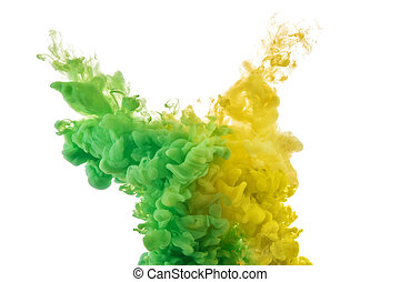 colorare, schizzi, inchiostro