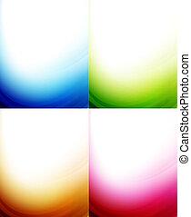 colorare, sfondi, onda