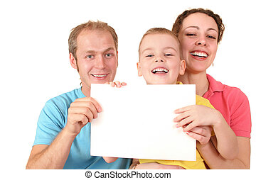 colorare, testo, scheda, famiglia