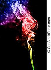 colorato, fumo