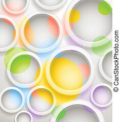 colore sfondo, testo, astratto, circles., sagoma