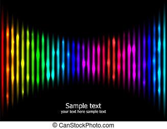 colori, arcobaleno, astratto, fondo