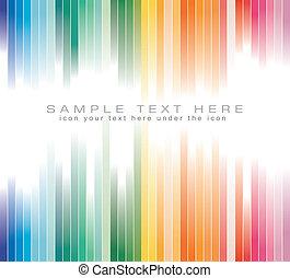 colorito, affari, fondo, volantini, opuscolo, strisce, o
