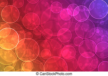 colorito, astratto, effetto, bokeh, fondo, digitale