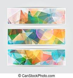 colorito, astratto, triangolare, sfocato, polygonal, testata, vettore, colomba
