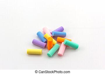 colorito, eraser.