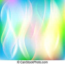 colorito, fondo, astratto
