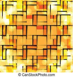 colorito, luminoso, mosaico, astratto, fondo