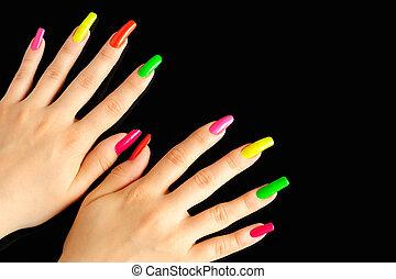colorito, manicure