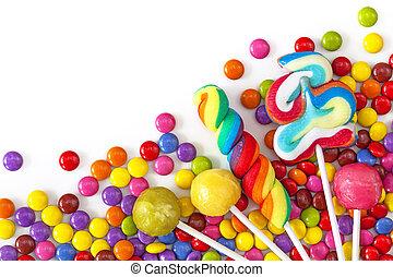 colorito, mescolato, dolci