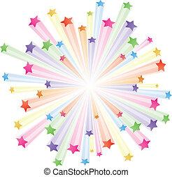 colorito, stelle