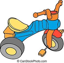 colorito, tricicli