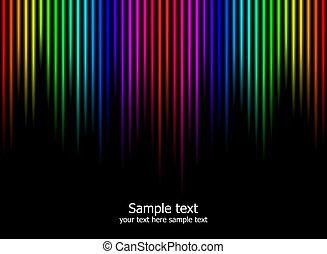 colours arcobaleno, fondo, astratto