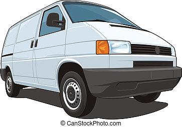 commerciale, furgone