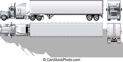 commerciale, semi-camion