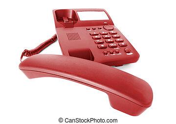 communications., telefono, ufficio