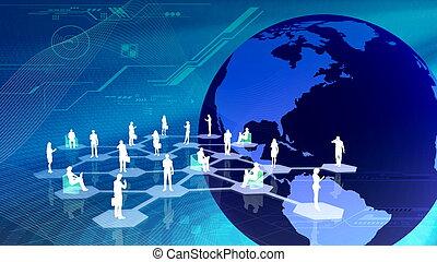communitty, rete, sociale