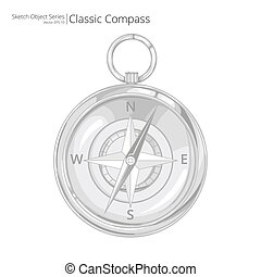 compass., vettore