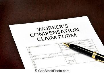 compenso, lavoratore, forma