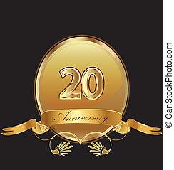 compleanno, anniversario, 20