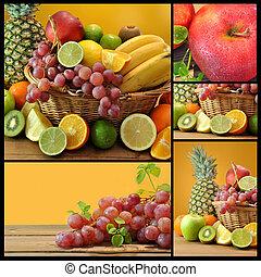 composizione, frutte
