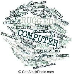 computer, accidentato