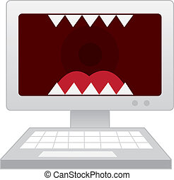 computer, denti