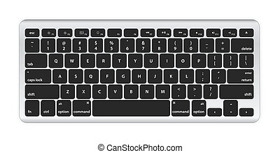 computer, nero, tastiera