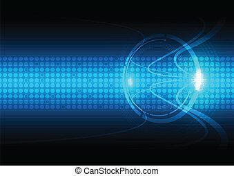 comunicazione, astratto, tecnologia, fondo