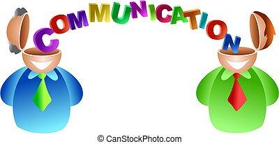 comunicazione, cervello