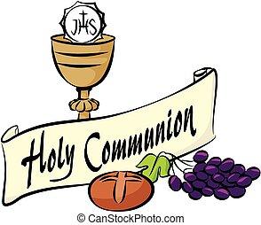 comunione, santo
