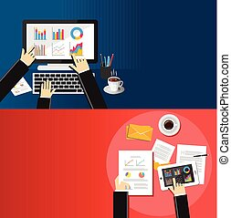 concept., affari, analisi