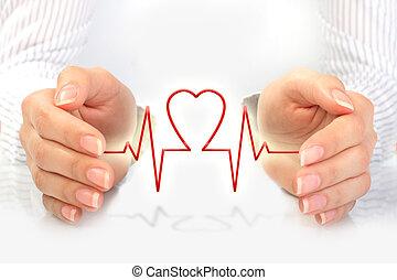 concept., assicurazione sanitaria