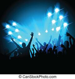 concerto, persone