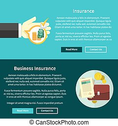 concetto affari, assicurazione