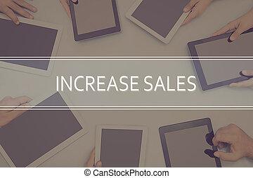 concetto affari, concept., aumento vendite