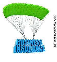 concetto, assicurazione, affari