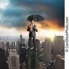 concetto, assicurazione, protezione